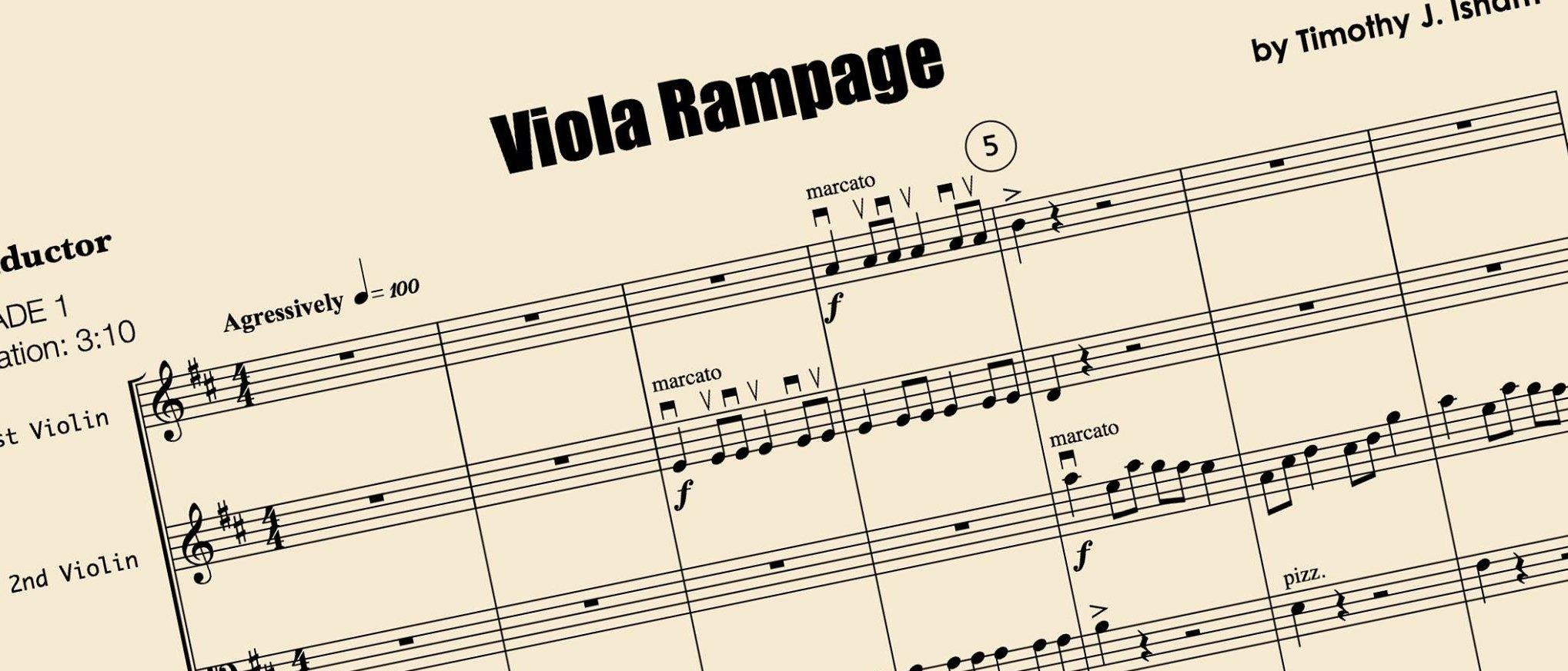 Viola Rampage is coming to Kendor